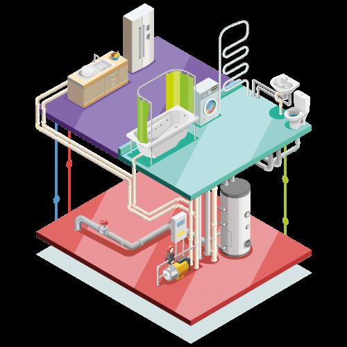 impianto pompa di calore casa