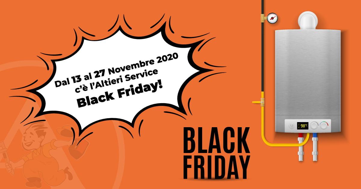 promozione caldaia black friday