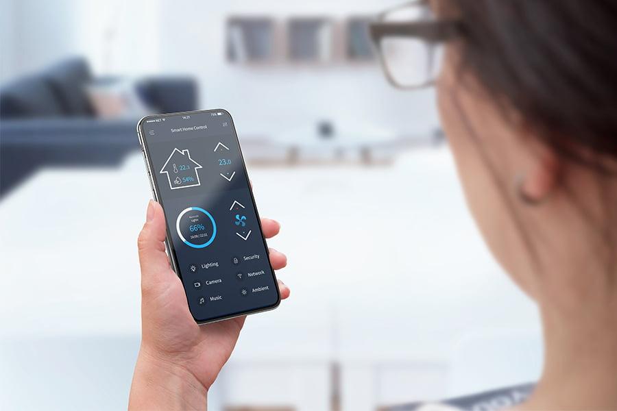 controllo caldaia smartphone